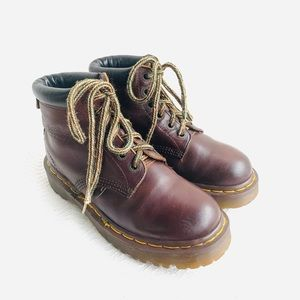 Dr Martens England Brown Leather Boots 7